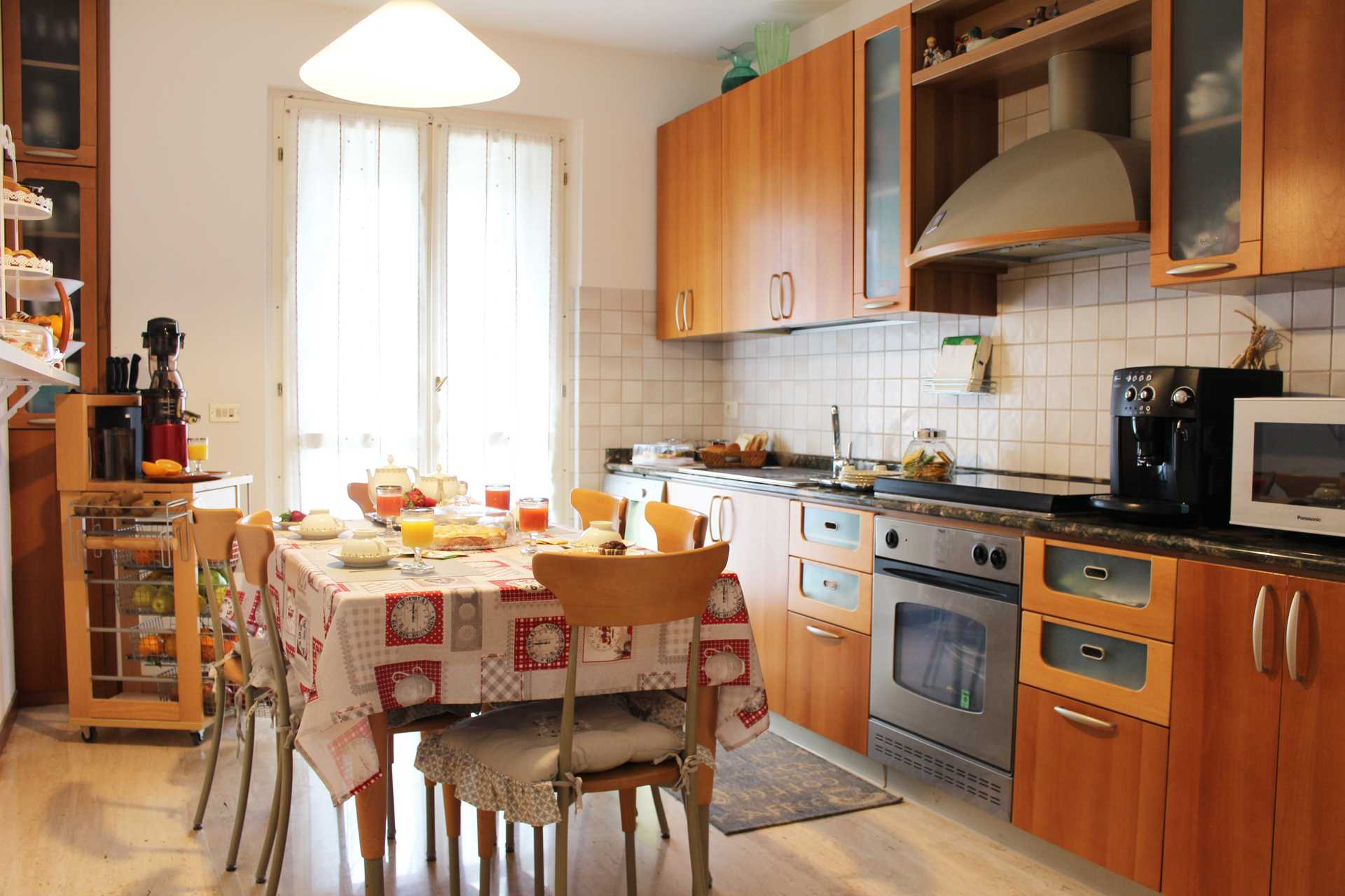 Cucina Bed and Breakfast Villa Lilla a San Benedetto del Tronto